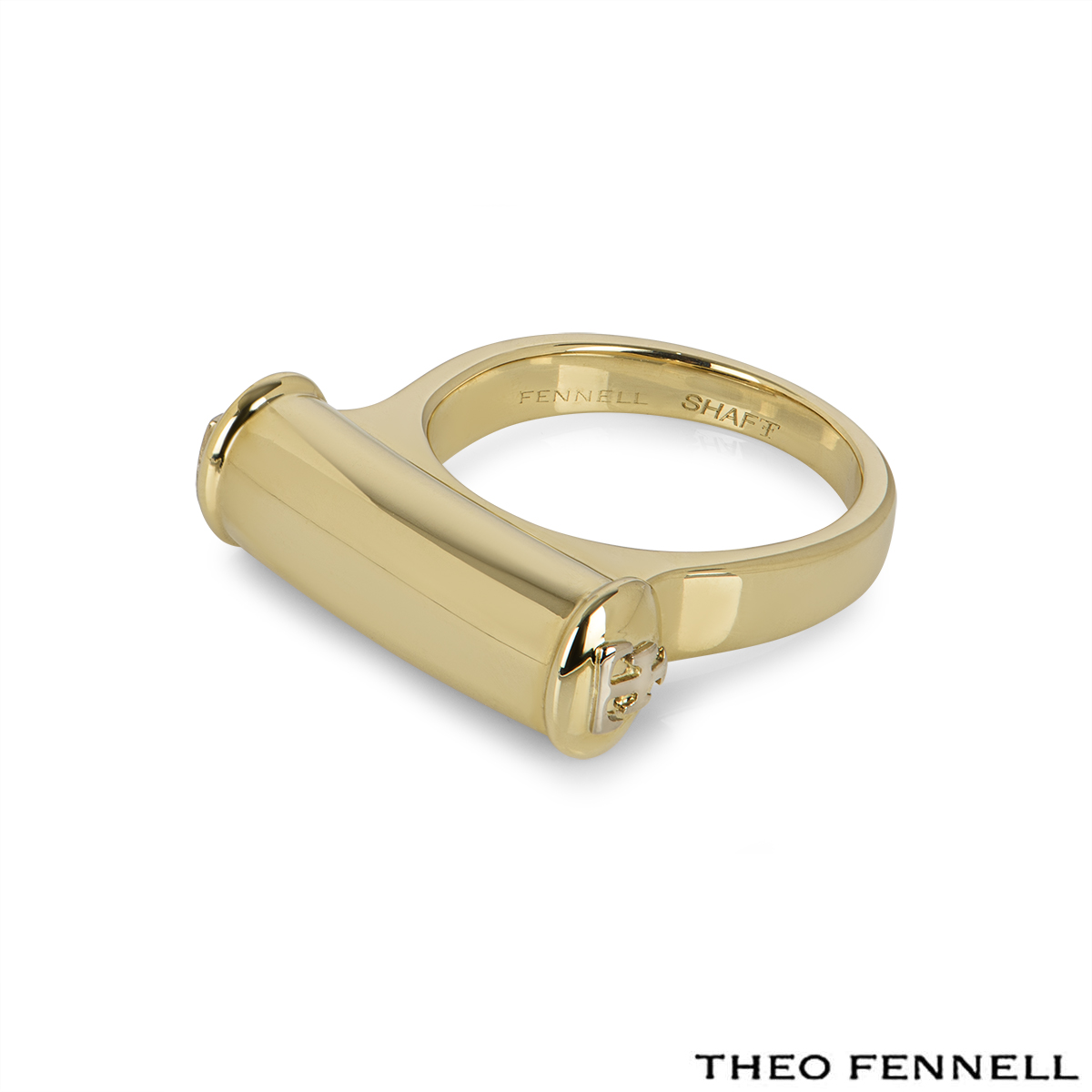 Theo Fennell Yellow Gold Dress Ring